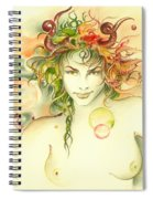 The Capricorn Spiral Notebook
