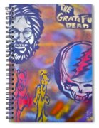 The Grateful Dead Spiral Notebook