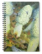 The Green Man With Fly Agaric Spiral Notebook