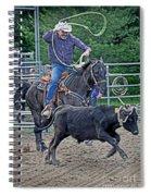 The Header Spiral Notebook