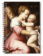 The Holy Family Spiral Notebook