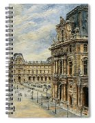 The Louvre Museum Spiral Notebook