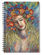 The Loving Angel Spiral Notebook