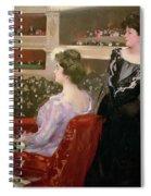 The Lyceum Spiral Notebook