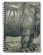 The Rhinoceros Spiral Notebook