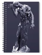 The Sculpture Of Auguste Rodin Spiral Notebook