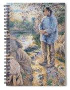 The Washerwomen Spiral Notebook