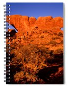 The Windows Sunrise Spiral Notebook