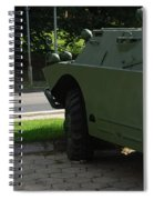 Vehicle Of The Future Spiral Notebook