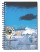 Water Windmill Spiral Notebook