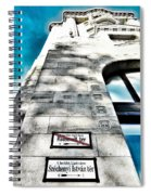 Way The Wind Blows - Four Season Hotel Budapest Hungary Spiral Notebook