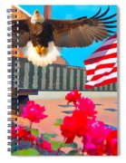 We Are All American's    Americans For All Spiral Notebook