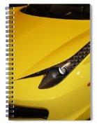 Yellow Spiral Notebook