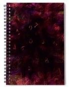 0 Through 9 Spiral Notebook