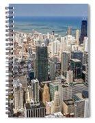 0001 Chicago Skyline Spiral Notebook
