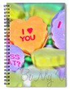 0004 Valentine Series Spiral Notebook