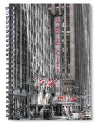 0007 Radio City Music Hall Spiral Notebook