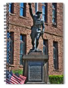 001 American Doughboy Over The Top To Victory Spiral Notebook