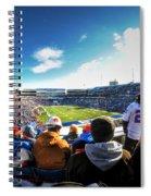 001 Buffalo Bills Vs Jets 30dec12 Spiral Notebook