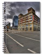 001 Delaware And The Chipp Stripp Spiral Notebook