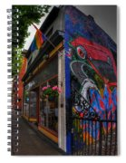 001 Glow Gallery Spiral Notebook