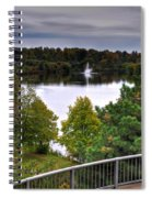 001 Hoyt Lake Autumn 2013 Spiral Notebook