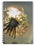 001 Make A Wish At Sunset Spiral Notebook