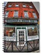 001 Mulligans Brick Bar Spiral Notebook