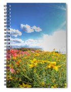 001 Niagara Falls Misty Blue Series Spiral Notebook
