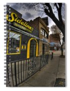 001 Sidelines Sports Bar And Grill Spiral Notebook