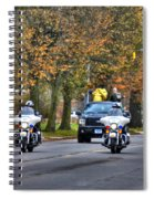 001 Turkey Trot 2014 Spiral Notebook