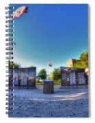 001 We Will Not Forget At The Erie Basin Marina Spiral Notebook