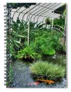 001 Within The Rain Forest Buffalo Botanical Gardens Series Spiral Notebook