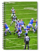 0010 Buffalo Bills Vs Jets 30dec12 Spiral Notebook