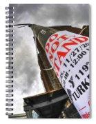 0010 Do Not Stand Spiral Notebook