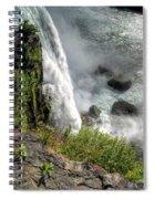 0010 Niagara Falls Misty Blue Series Spiral Notebook