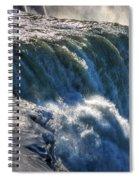 0010 Niagara Falls Winter Wonderland Series Spiral Notebook