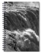 0010a Niagara Falls Winter Wonderland Series Spiral Notebook