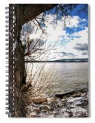 0011 Grand Island Bridge Series Spiral Notebook