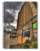 0011 Holiday Inn On Delaware Ave Buffalo Ny Spiral Notebook