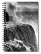 0011a Niagara Falls Winter Wonderland Series Spiral Notebook