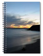 0012 Awe In One Sunset Series At Erie Basin Marina Spiral Notebook