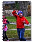 0012 Turkey Trot 2014 Spiral Notebook