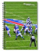 0013 Buffalo Bills Vs Jets 30dec12 Spiral Notebook