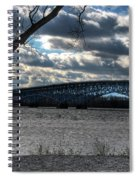 0013 Grand Island Bridge Series Spiral Notebook