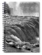 0013a Niagara Falls Winter Wonderland Series Spiral Notebook