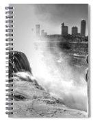 0014a Niagara Falls Winter Wonderland Series Spiral Notebook