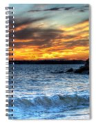 0015 Awe In One Sunset Series At Erie Basin Marina Spiral Notebook