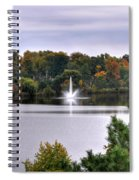 0015 Hoyt Lake Autumn 2013 Spiral Notebook