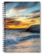 0016 Awe In One Sunset Series At Erie Basin Marina Spiral Notebook